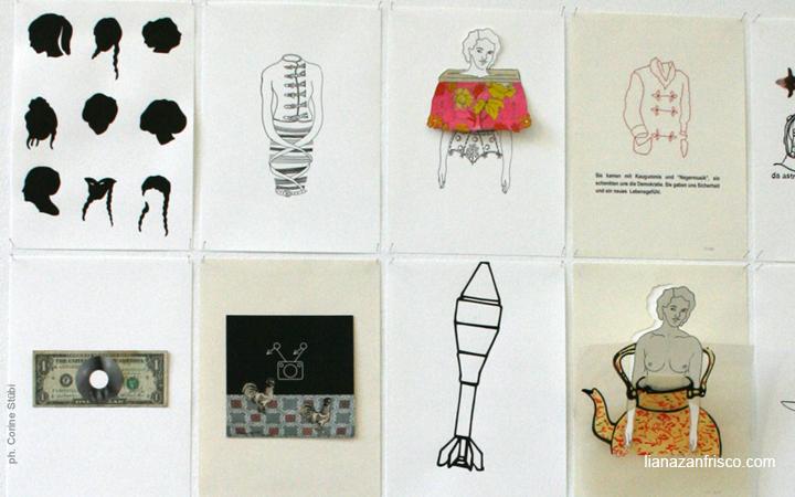 l faut aimer le travail, Collage di Liana Zanfrisco