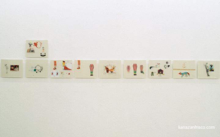 Esposizione Le reve, Colonia (D), Projektraum.