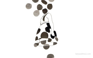 Disegno di Liana Zanfrisco.