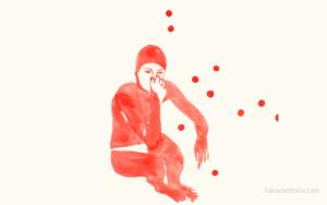 Disegni Rossi di Liana Zanfrisco