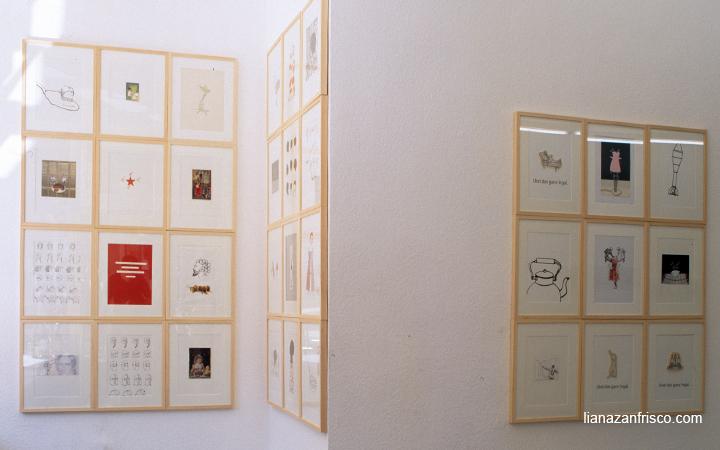 Disegni e Collage di Liana Zanfrisco