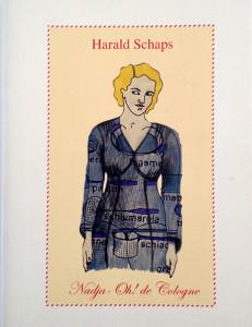 Copertina del libro di poesie di Harald Schaps