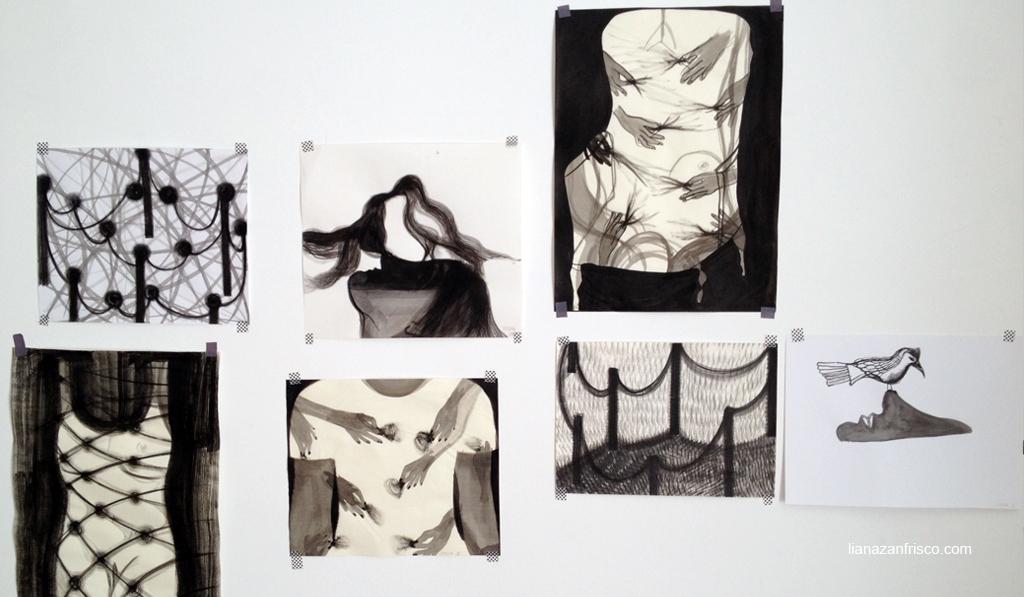 storie di segni, gruppo di disegni del lunedì