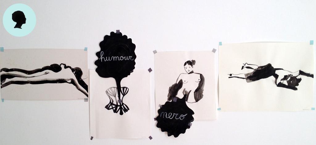 arte del riordino, quattro disegni sulla vita delle donne