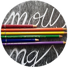 Disegno contemporaneo logo Anonyme Zeichner.