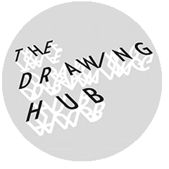 Disegno contemporaneo logo Drawing Hub.