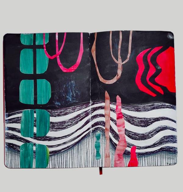 Il collage di Miriam Paternoster