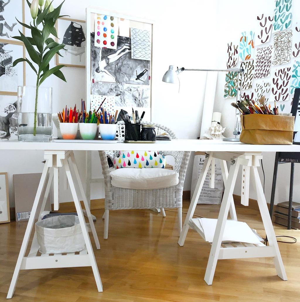 atelier dell'artista di Liana Zanfrisco