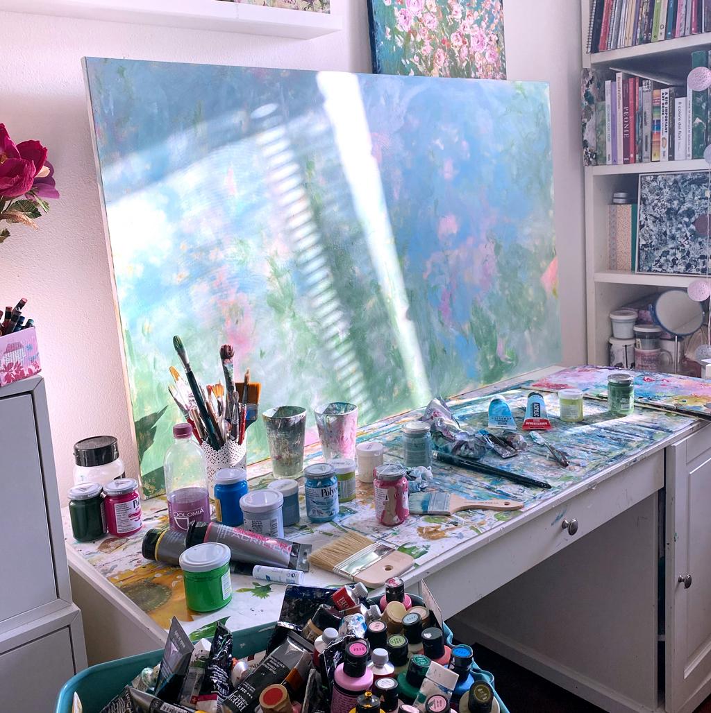 atelier dell'artista Valeria Piludu